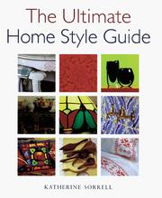Cover of: The ultimate home style guide