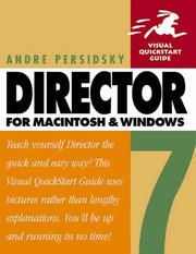 Cover of: Director 7 for Macintosh and Windows