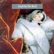 Cover of: And so to bed