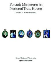 Cover of: Portrait miniatures in National Trust houses
