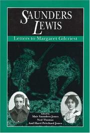 Cover of: Letters to Margaret Gilcriest