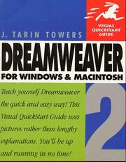 Cover of: Dreamweaver 2 for Windows and Macintosh