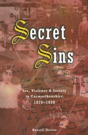 Secret Sins by Russell Davies