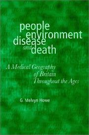Cover of: People, environment, disease, and death