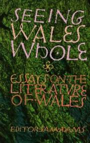 Cover of: Seeing Wales whole |