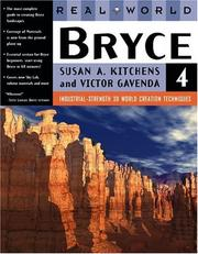 Cover of: Real world Bryce 4