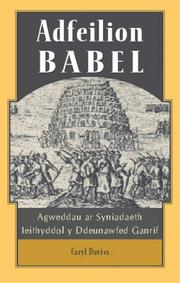 Cover of: Adfeilion Babel