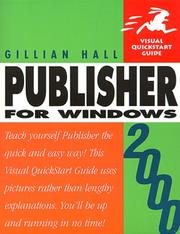 Cover of: Publisher 2000 for Windows