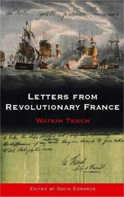 Cover of: Letters from revolutionary France