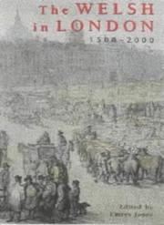 Cover of: The Welsh in London, 1500-2000