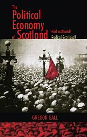 Cover of: The Political Economy of Scotland