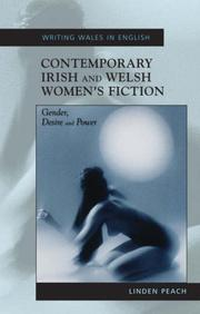 Cover of: Contemporary Irish and Welsh Women's Fiction: Gender, Desire and Power (University of Wales Press - Writing Wales in English)