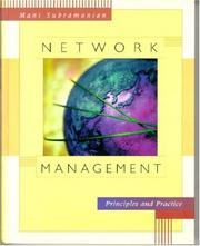 Cover of: Network Management