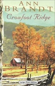 Cover of: Crowfoot Ridge