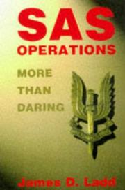 Cover of: SAS Operations | James D. Ladd