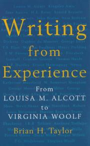 Cover of: Writing from Experience