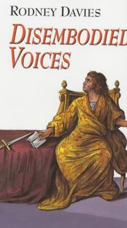 Cover of: Disembodied Voices