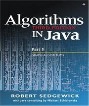 Cover of: Algorithms in Java, Part 5