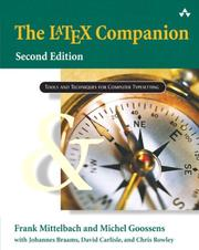 Cover of: The LaTeX companion. | Frank Mittelbach