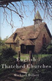 Cover of: English Thatched Churches