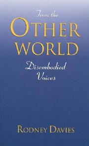 Cover of: From the Other World