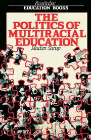 Cover of: The politics of multiracial education