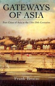 Cover of: Gateways of Asia