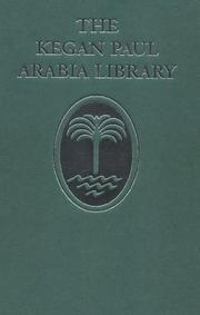 A literary history of the Arabs by Reynold Alleyne Nicholson