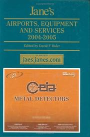 Janes Airports Equipment & Services 2004-2005 (Janes Airport Equipment and Services) (Janes Airport Equipment and Services)
