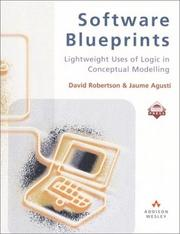 Cover of: Software blueprints