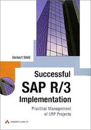 Cover of: Successful SAP R/3 Implementation