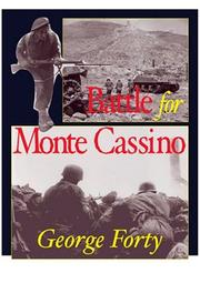 Cover of: Battle for Monte Cassino