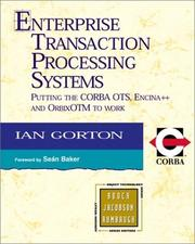 Cover of: Enterprise Transaction Processing Systems