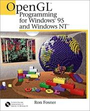 Cover of: OpenGL programming for Windows 95 and Windows NT