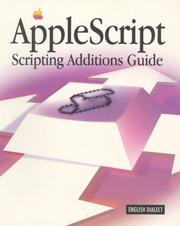 Cover of: AppleScript scripting additions guide: English dialect