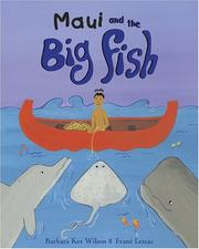 Cover of: Maui And The Big Fish | Barbara Ker Wilson