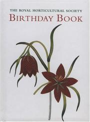 Cover of: Royal Horticulture Society Birthday Book