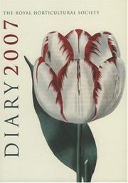 Cover of: RHS Diary 2007 (Diary)