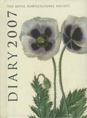 Cover of: RHS Pocket Diary 2007
