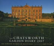 Cover of: Chatsworth Garden Diary 2007 |