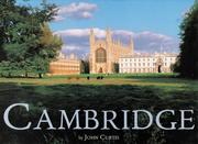 Cover of: Cambridge (The Jarrold Groundcover Series) | John Curtis