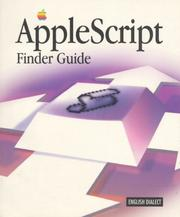 Cover of: AppleScript finder guide: English dialect.