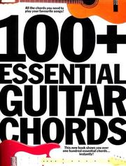 Cover of: 100+ essential guitar chords |