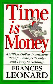 Cover of: Time is money