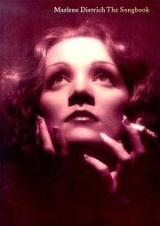 Cover of: Marlene Dietrich - The Songbook