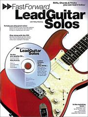 Cover of: Fast Forward/Lead Guitar Solos (Fast Forward (Music Sales))