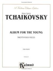 Cover of: Album for the young: twenty-four easy piano-pieces.  Op. 39.