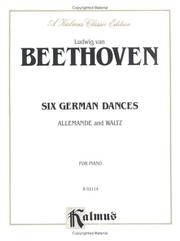 Cover of: Six German Dances