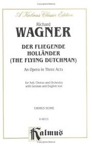 Cover of: Der Fliegende Hollander/ the Flying Dutchman