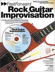 Cover of: Fast Forward Rock Guitar Improvisation (Fast Forward (Music Sales)) | Rikky Rooksby